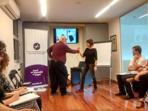 taller George simons con Laura Turner